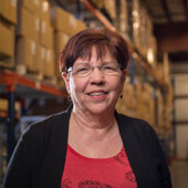 picture of vicki detmers logistics and warehouse manager